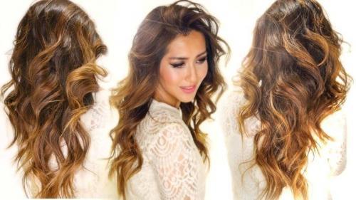 Цвет волос карамель. Определяем тип кожи
