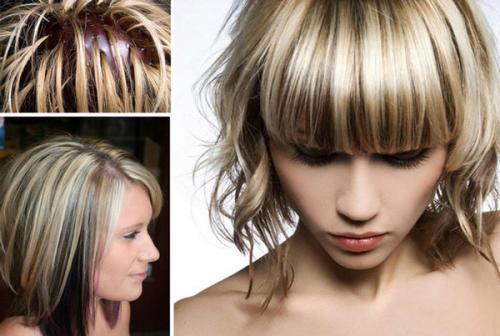 Техника колорирование волос. Как сделать колорирование в домашних условиях