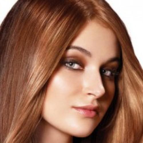 Цвет волос бренди