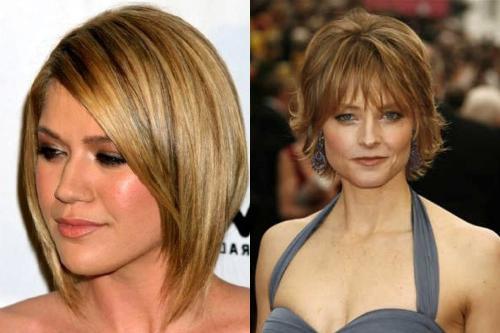 Стрижки на короткие волосы с челкой лесенка. Стрижка лесенка на короткие волосы