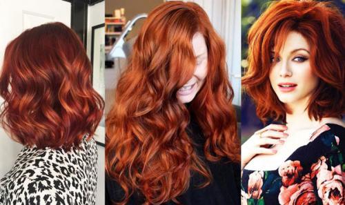 Как рыжие волосы сделать светлее. Кому пойдет цвет