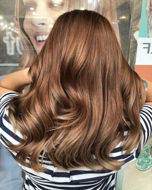 Цвет волос латте макиато. Кому капучино? Модный цвет волос в оттенках.