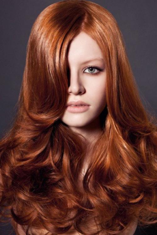 Как покрасить волосы в медный цвет дома. Медные оттенки волос: красиво и ярко