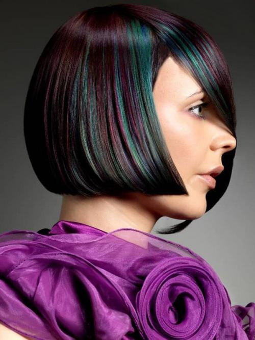 Окраска волос в два цвета в домашних условиях. Что такое двойное окрашивание волос 36