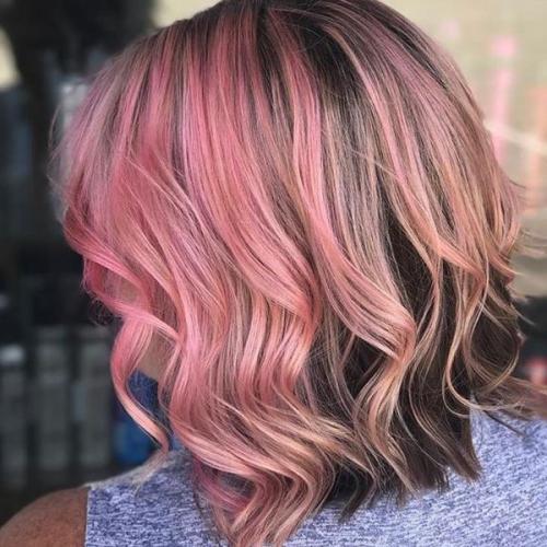 Окраска волос в два цвета в домашних условиях. Что такое двойное окрашивание волос 37