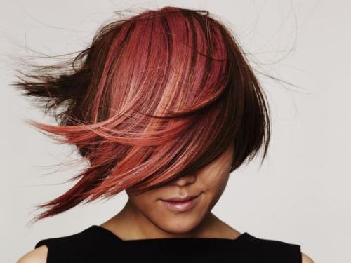 Окраска волос в два цвета в домашних условиях. Что такое двойное окрашивание волос 35