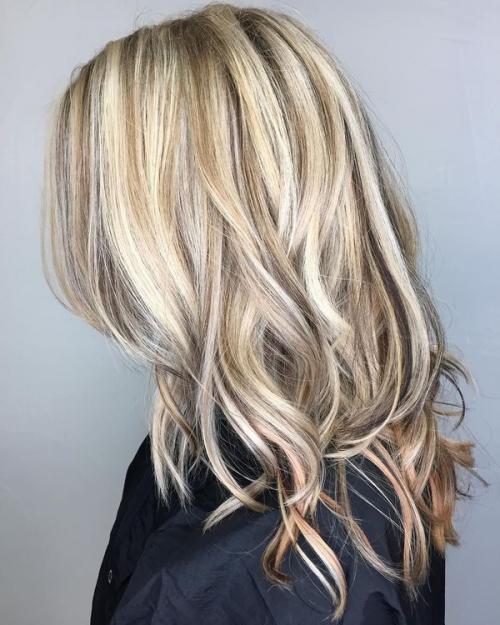 Окраска волос в два цвета в домашних условиях. Что такое двойное окрашивание волос 38