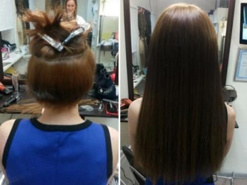 Минимальная длина волос для наращивания. Можно ли проводить наращивание на короткие волосы
