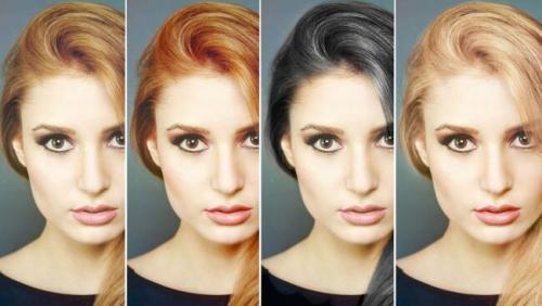 Какой цвет волос мне подойдет онлайн. Как выбрать цвет волос который будет вам к лицу