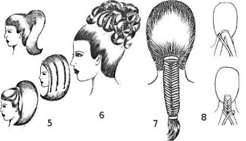 Разные виды кос. Инструкция плетения сложных кос
