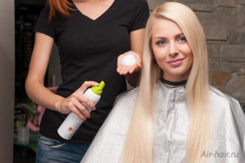 Чем отличается мусс от пены. Укладка волос: мусс или пенка?