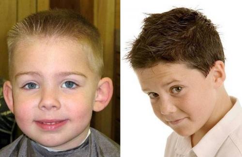 Как подстричь мальчика с челкой. Виды модных стрижек для мальчиков 8-12 лет