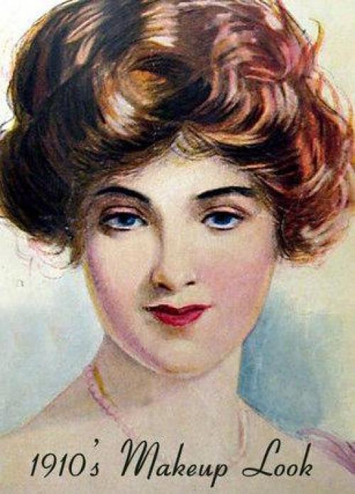 Прически старых времен. 1910-е Все внимание на: прическу и губы