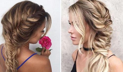 Коса на бок объемная. Как заплести косу на бок самой себе: 12 способов с пошаговыми фото