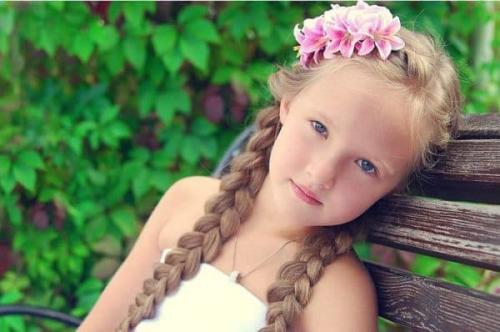 Стрижка каскад детская. Варианты для девочек на длинные волосы