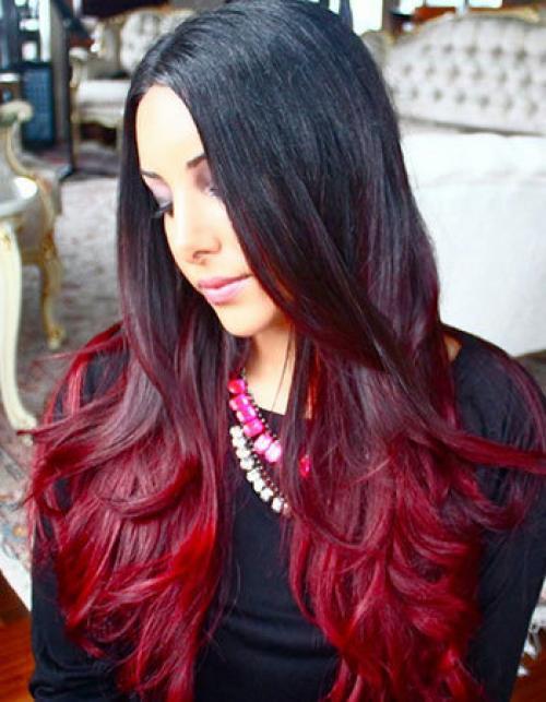 Основные цвета волос названия. Амбре (омбре), коломбре