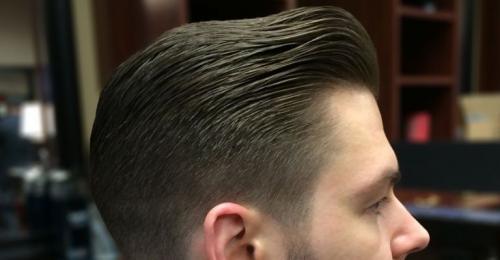 Как укладывать длинные волосы мужчине. Укладка на короткие волосы