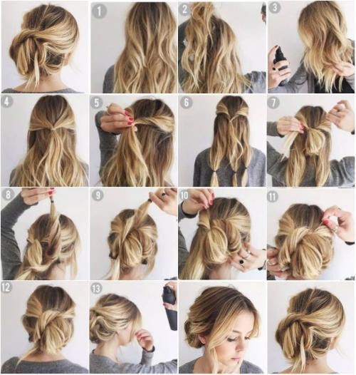 Зачіски сучасні на середнє волосся. 15 лучших причесок на среднюю длину волос