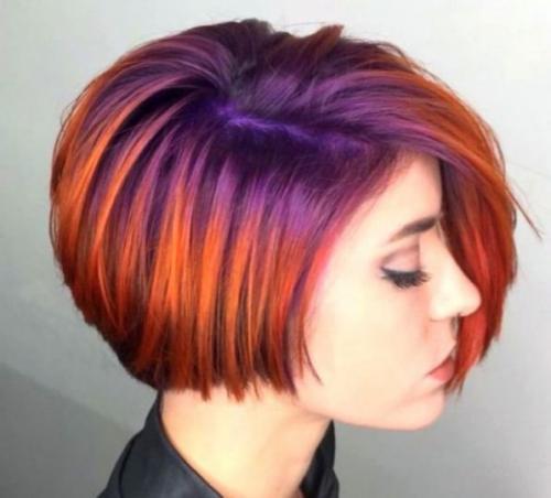 Как покрасить короткие волосы. Как можно покрасить короткие волосы