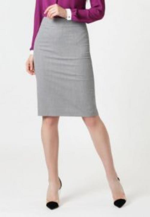 Прямая юбка рисунок. Выкройка прямой классической юбки.