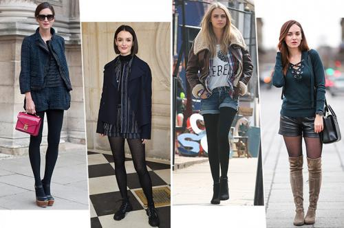 Луки с шортами. С чем носить шорты осенью-2019: 8 модных образов