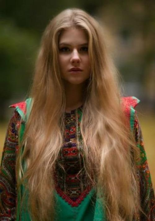 Распущенные волосы признак распущенности. Распущенные волосы в свете славянской традиции