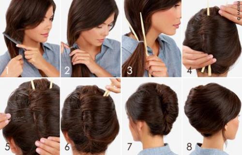 Укладка на длинные волосы ракушка. Выполнение ракушки своими руками пошагово на длинные волосы
