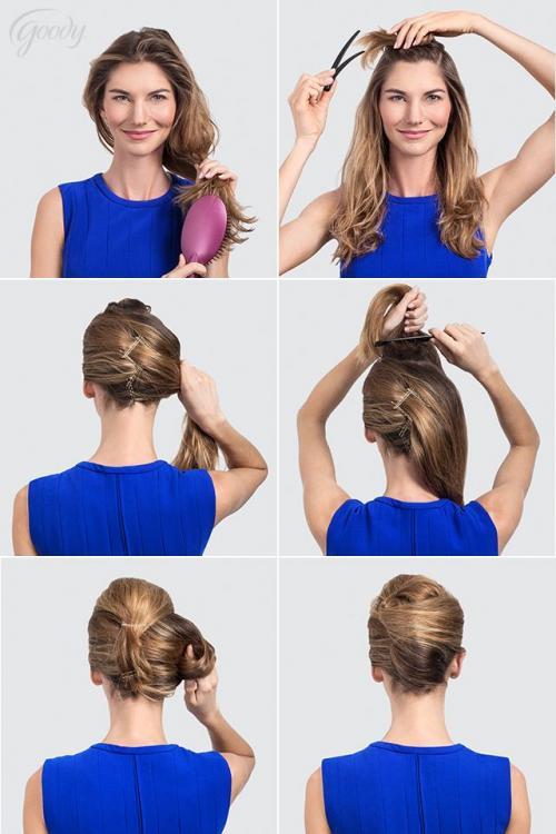 Ракушка на тонкие волосы. Вариации на тему французской ракушки-улитки