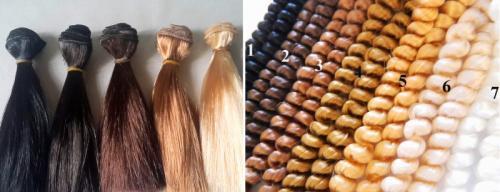 Натуральные волосы для кукол. 10. Волосы и трессы для кукол