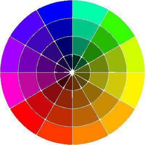 Колористика для начинающих Парикмахеров теория. Как соединить цвета