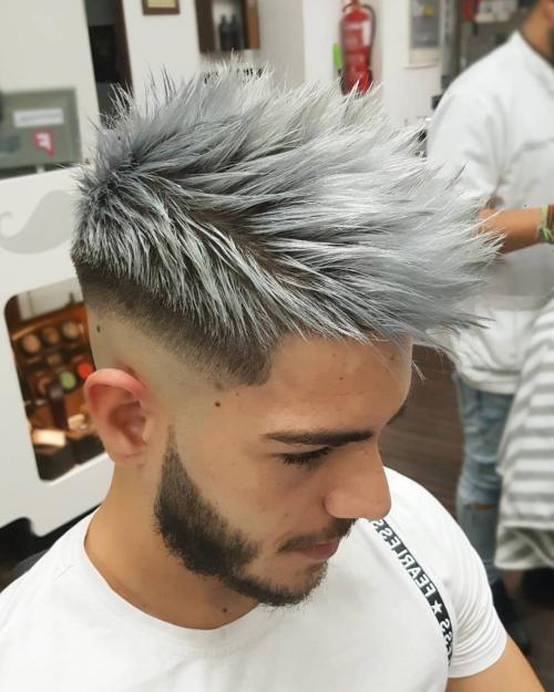 Как покрасить волосы в пепельный цвет парню. Как покрасить волосы в пепельный цвет мужчинам