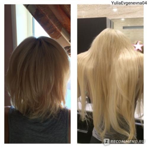 Трессы для волос. Отзыв о волосах на трессах! Натуральные накладные пряди +++ ФОТО
