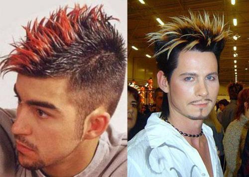 В какой цвет лучше покрасить волосы парню. Техники окрашивания