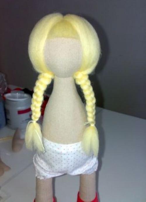 Кукла Снежка - мастер-класс