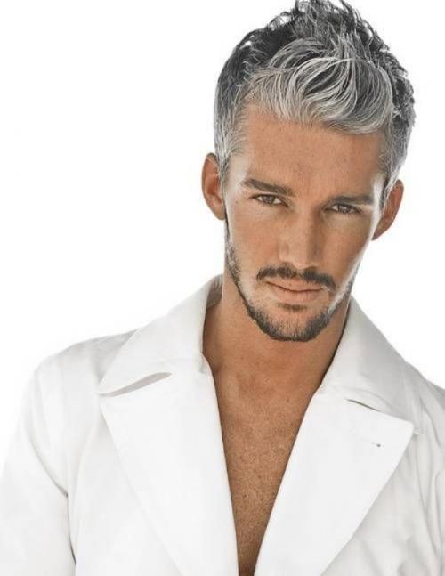 Мелирование мужских волос в пепельный. Пепельный цвет волос у мужчин: особенности и фото