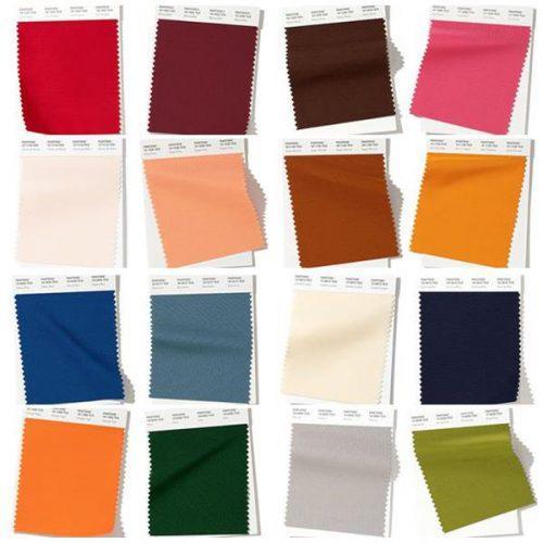 Осенью, какой цвет в моде. Модные цвета осенне-зимнего сезона 2019-2020 по версии Pantone