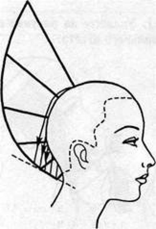 Равномерная форма стрижки. Основные формы стрижек