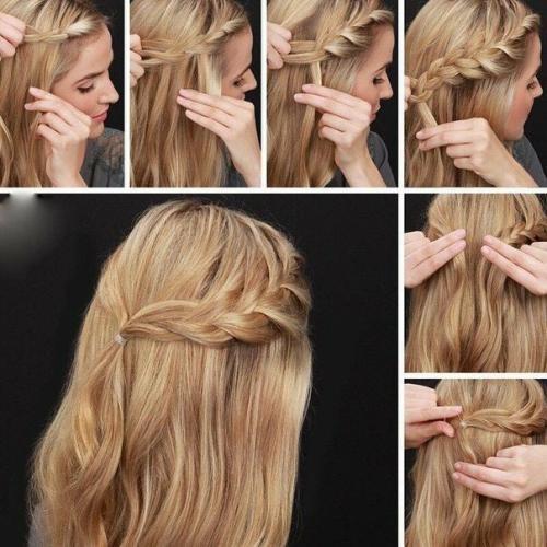 Заколоть волосы средней длины в домашних условиях. Варианты на стрижку средней длины