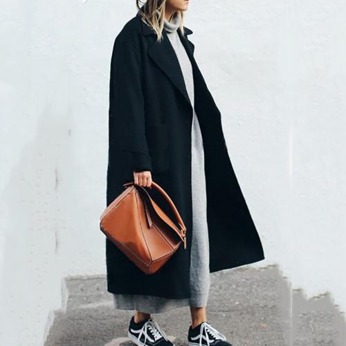 Какую обувь носить под женское пальто. Выбираем обувь под длинное пальто