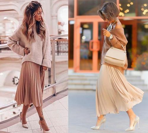 Стильно одетые девушки 2019. Весеннее настроение