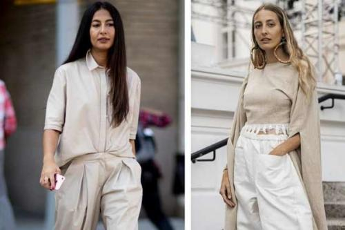 С чем носить блузку бежевую. Бежевая блузка или рубашка: как носить, чтобы выглядеть на миллион
