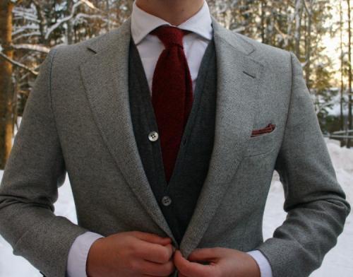 Деловой стиль зимой мужчины. Мужские зимние аксессуары