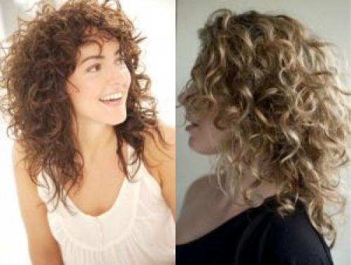 Стрижки на вьющиеся волосы средней длины 2019. Модные прически средних кудрявых волос 2019