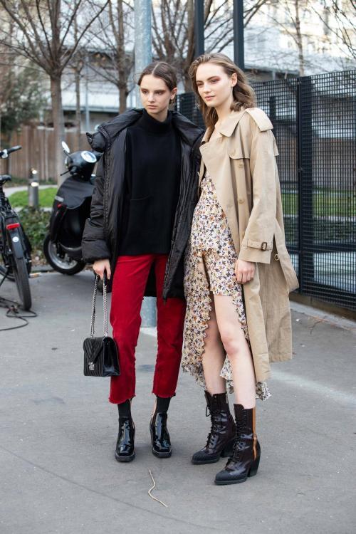 Образы осень-зима 2019. Уличная мода осень-зима 2019-2020 для женщин