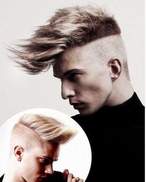 Мужские причёски своими руками