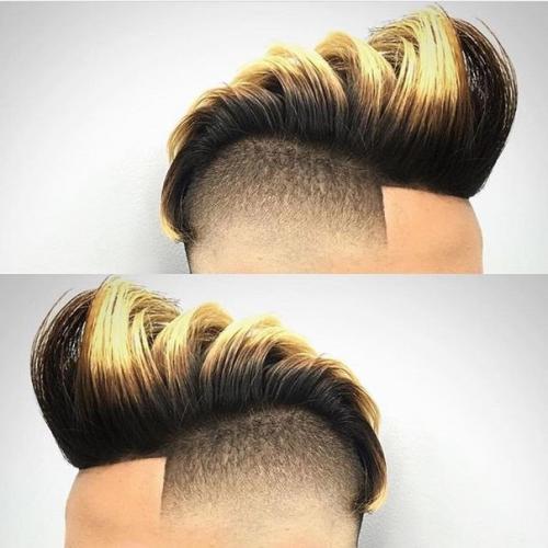 Мужское окрашивание волос
