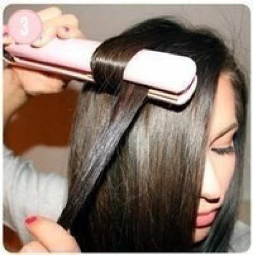прически с помощью геля для волос