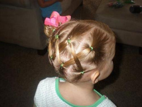 Прически детские на короткие волосы поэтапно