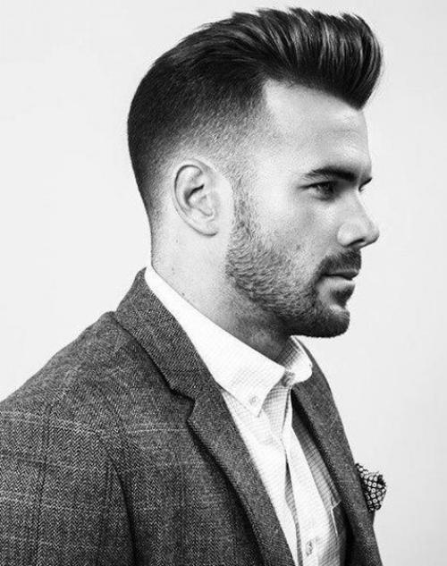 Помпадур прическа мужская Как сделать. История Pompadour Haircut