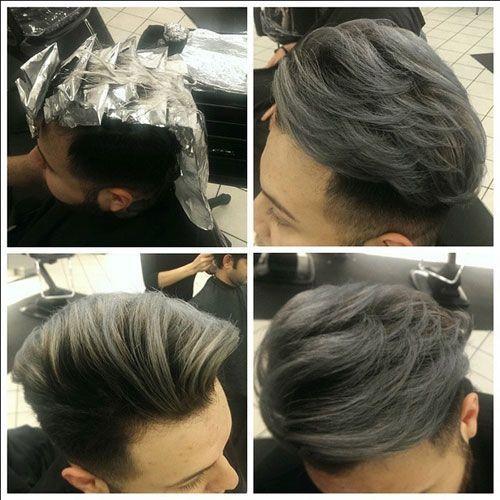 Мелирование мужских волос. Мужское мелирование. Не только женщины, но и мужчины стараются следить за своим внешним видом и заботятся о своём имидже.